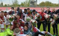 Un roman a devenit azi CAMPION in Olanda! Ricardo Farcas a luat titlul cu Ajax la U17