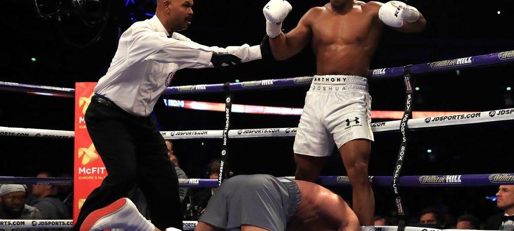 SURPRIZA! Cu cine lupta Joshua dupa ce l-a facut KO pe Klitschko! NU sunt cei 2 adversari impusi de IBF si WBA