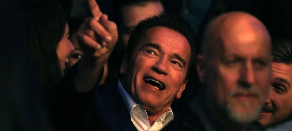 Reactia lui Arnold dupa ce a vazut pe viu victoria magistrala a lui Joshua! A ramas masca dupa ce Klitschko a fost facut KO