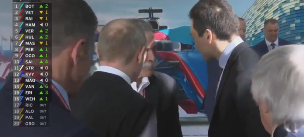 Aparitie-surpriza a lui Putin la Soci! Ce a facut dupa cursa de F1