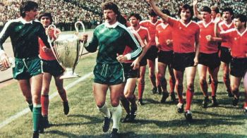 """De la """"Apara Duckadam!"""", la """"Apare Duckadam?"""" Piturca si Tudorel Stoica striga adunarea pentru Steaua '86"""