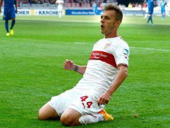 In forma MAXIMA. Alex Maxim, al treilea gol in patru meciuri la Stuttgart: echipa romanului e la doua jocuri de promovare