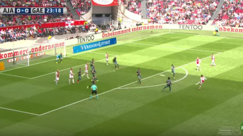 VIDEO: Gol superb marcat de Kluivert Jr! Ajax si Feyenoord se bat pentru titlu in ultima etapa! LYON - AJAX e joi la Sport.ro, 22:00