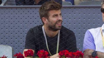 Scene INCREDIBILE! Ce s-a intamplat cand Pique a aparut la turneul de tenis de la Madrid! VIDEO