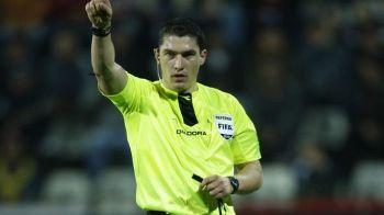 ULTIMA ORA: Ce arbitri au fost delegati la Dinamo - Astra, Steaua - Craiova si Viitorul - CFR Cluj