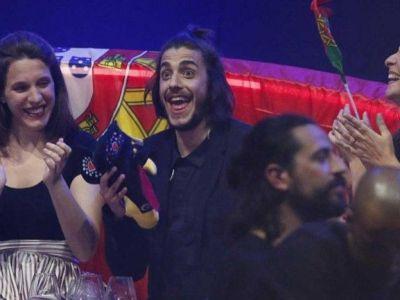 Mesajul postat de Benfica pentru castigatorul Eurovision in seara in care au castigat titlul in Portugalia! Reactia fanilor echipei a fost incredibila