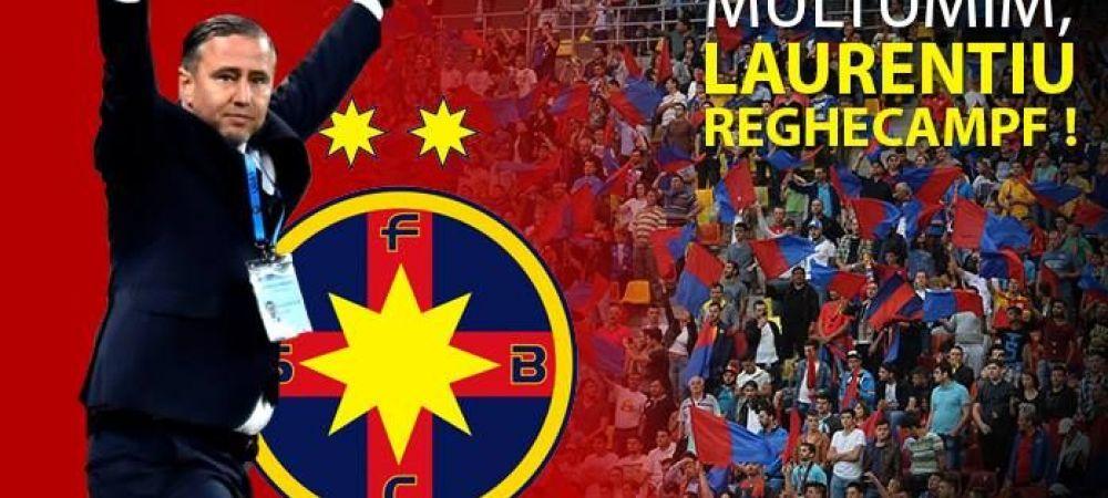 Steaua si-a luat adio de la Reghecampf. Mesajul postat de club dupa ce echipa a terminat sezonul fara trofeu