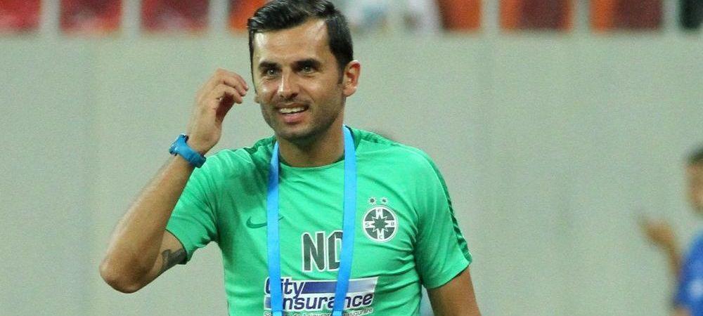 Dica a batut-o pe Steaua! Viitorul antrenor ros-albastru a stat pe banca lui SCM Pitesti cu FCSB 2. Cat s-a terminat meciul