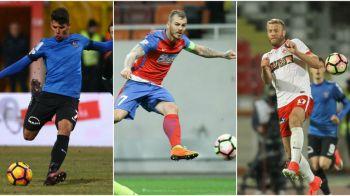 Echipa sezonului, cu 3 campioni de la Viitorul, 3 jucatori de la Steaua si 2 de la Dinamo. Cum arata cel mai bun 11