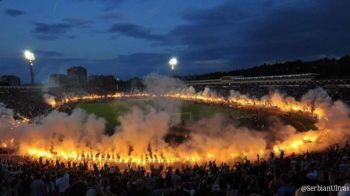 NEBUNIE TOTALA la Belgrad dupa ce Partizan a castigat titlul de campioana! Ce au putut sa faca fanii: VIDEO