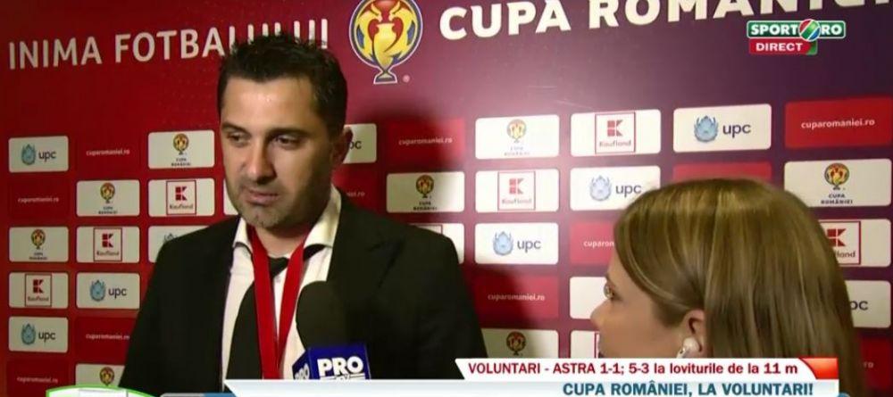 """""""Acum un an dadeau apa cu matura, acum au castigat Cupa!"""" Declaratia GENIALA a lui Niculescu dupa ce a castigat Cupa"""