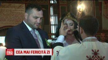 """Am avut emotii mai ceva ca in ring!"" Toata comuna Pechea a venit la nunta lui Ciocan! VIDEO"