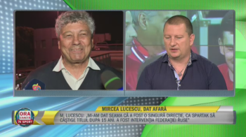 """Atac dur la Mircea Lucescu! Ionut Chirila: """"Are un rol in caderea fotbalului romanesc! E mai puternic decat generalul Coldea"""""""