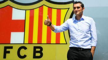 """O sa-l antrenez pe Messi!"" Valverde, prezentat oficial la Barcelona! Ce a spus despre Iniesta"