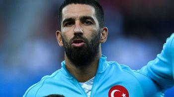Arda Turan s-a retras din nationala Turciei dupa un scandal monstru in avionul echipei, in care s-au aruncat cuvinte grele