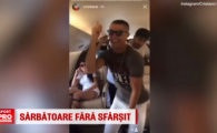 Sarbatoare fara sfarsit! Ronaldo nu se opreste din dansat dupa a 12-a Liga a Realului: s-a dat in spectacol si in avion
