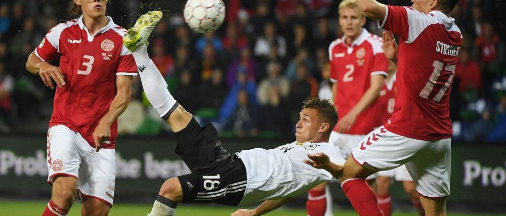 Golul finalului de sezon in Europa! Kimmich a marcat SENZATIONAL pentru Germania. VIDEO