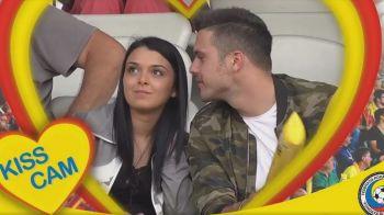 Moment special pe Cluj Arena inainte de partida: kiss cam! VIDEO | Romania a invins cu 3-2 Chile