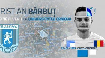 OFICIAL  CSU Craiova l-a transferat pe Cristian Barbut de la Poli Timisoara