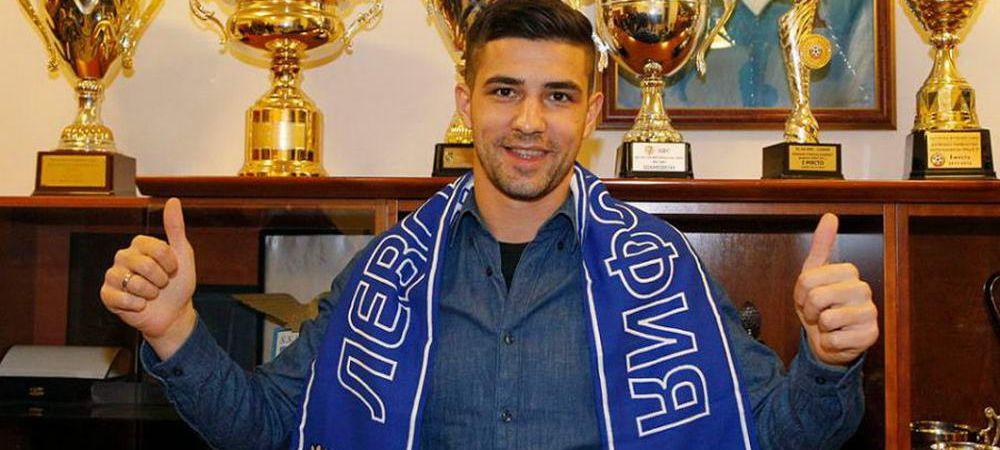 Petrescu a transferat o echipa intreaga la CFR! Luchin s-a despartit de Levski si merge la Cluj!