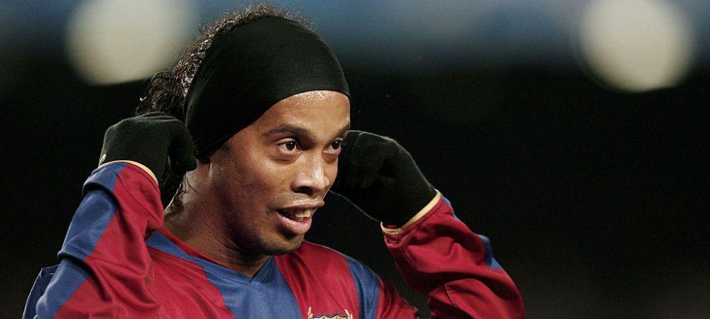 Transferul care putea schimba fotbalul din ultimul deceniu! De ce nu a ajuns Ronaldinho la Manchester United