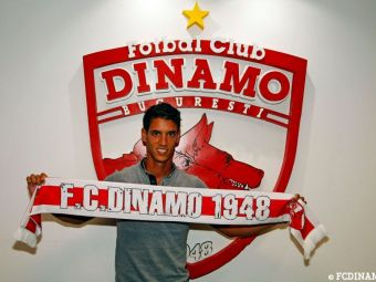 OFICIAL | Dinamo l-a prezentat pe portughezul Salomao. Mijlocasul este asteptat de Contra in Slovenia
