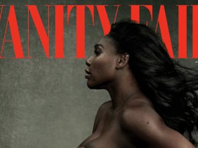 Serena Williams, insarcinata, a pozat NUD pentru revista Vanity Fair! FOTO