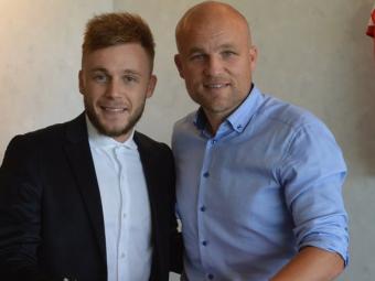 """Alexandru Maxim a semnat cu o Mainz si a primit numarul 10: """"Am luat cea mai buna decizie!"""""""