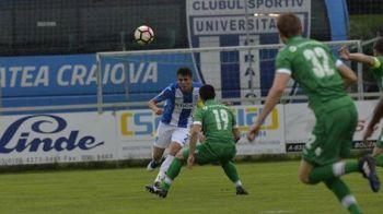 Craiova, invinsa de Ludogorets intr-un amical! Moti a marcat golul victoriei pentru bulgari