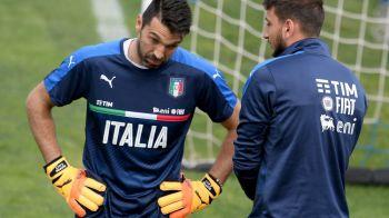 """Buffon l-a sunat pe Donnarumma, dupa ce portarul Milanului a fost """"atacat"""" cu dolari de ultrasi. Ce i-a spus"""