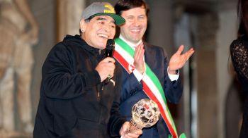 """Maradona, impotriva """"imperialismului american"""" si a """"glumei numite Trump"""". Argentinianul a dat interviu pentru Russia Today. Ce a spus despre Putin"""