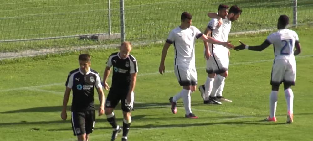 Viitorul, batuta de Krasnodar! Herea a marcat singurul gol pentru Hagi. VIDEO