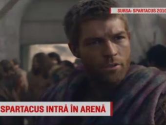 "Spartacus a venit in Romania si s-a antrenat cu ""Virusii verzi"". Actorul Liam McIntyre filmeaza la Cluj | VIDEO"