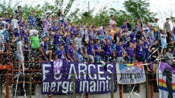 FC Arges renaste: 1 leu biletul la toate meciurile din noul sezon, echipa joaca in Liga a 2-a
