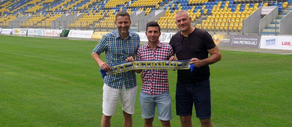 Petrolul a mai adus doi jucatori cu meciuri in Liga 1! Fotbalistii au fost prezentati oficial