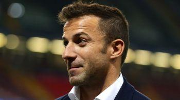 """Legendarul Del Piero, SOCAT de cel mai neasteptat transfer din ultimii ani: """"Am crezut ca-i o gluma!"""""""