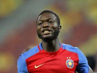 Sulley Muniru are o noua echipa, dupa despartirea de Steaua. Cu cine a semnat ghanezul