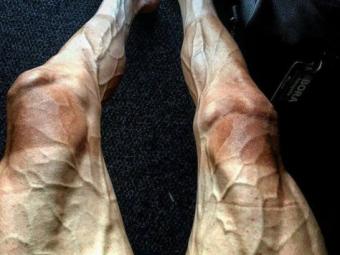 Ce face Turul Frantei din corpul unui sportiv! Poza uluitoare cu picioarele unui ciclist