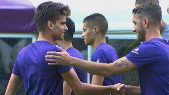 Ianis Hagi e de neoprit: gol si penalty scos pentru Fiorentina in amicalul de astazi. Cum a marcat: VIDEO