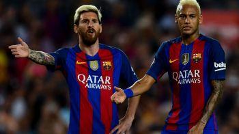 """""""Messi le-a spus sefilor ce inlocuitor vrea pentru Neymar"""". Spaniolii anunta cine e favoritul starului argentinian"""