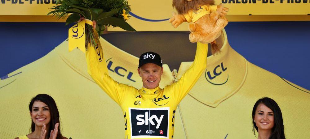 Un englez e rege in Le Tour. Froome e castigator virtual al Turului Frantei, pentru a patra oara; Bodnar a castigat etapa