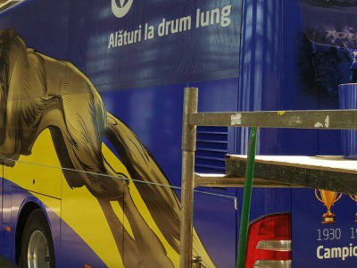 Drumul spre Liga a II-a, intr-un autocar ultramodern! Cum arata noua achizitie a Petrolului FOTO