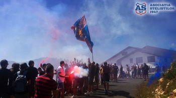 """CSA Steaua, victorie in al doilea meci din """"noua era"""": a invins o nationala a Romaniei! Peluza Sud a fost la meci FOTO"""