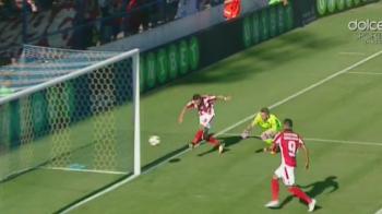 Ratare INCREDIBILA a lui Costache! Jucatorul lui Dinamo a ratat cu poarta goala! FOTO