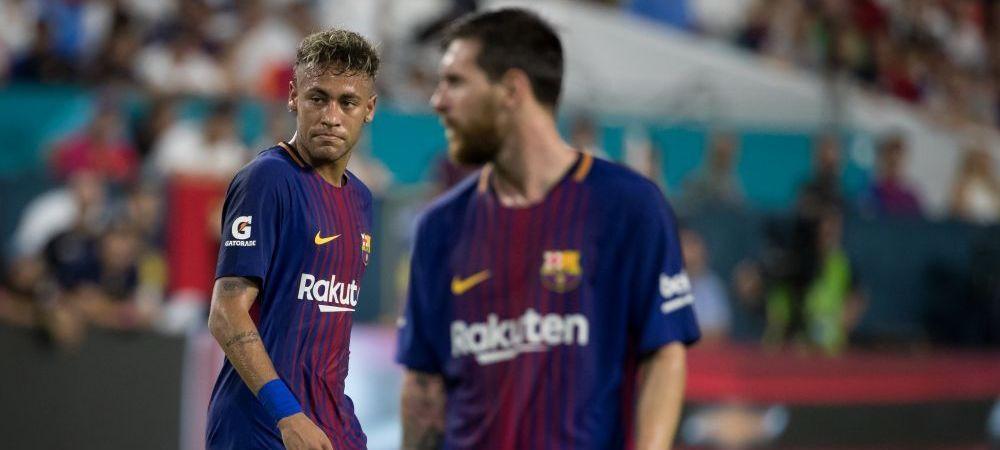 Momentul in care Neymar s-a decis sa plece de la Barcelona! Poza cu Messi care l-a scos din sarite