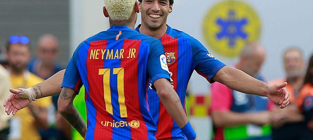 """""""Te iubesc, fratele meu! Mergi pe drumul tau"""". Mesajul lui Suarez pentru Neymar, dupa despartirea brazilianului de Barca"""