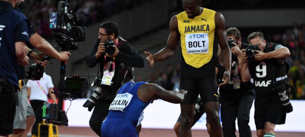 VIDEO Emotionant! Bolt a PIERDUT ultima cursa din cariera.Cel mai rapid om din ISTORIE a terminat pe 3 in proba de 100 de metri de la Campionatul Mondial