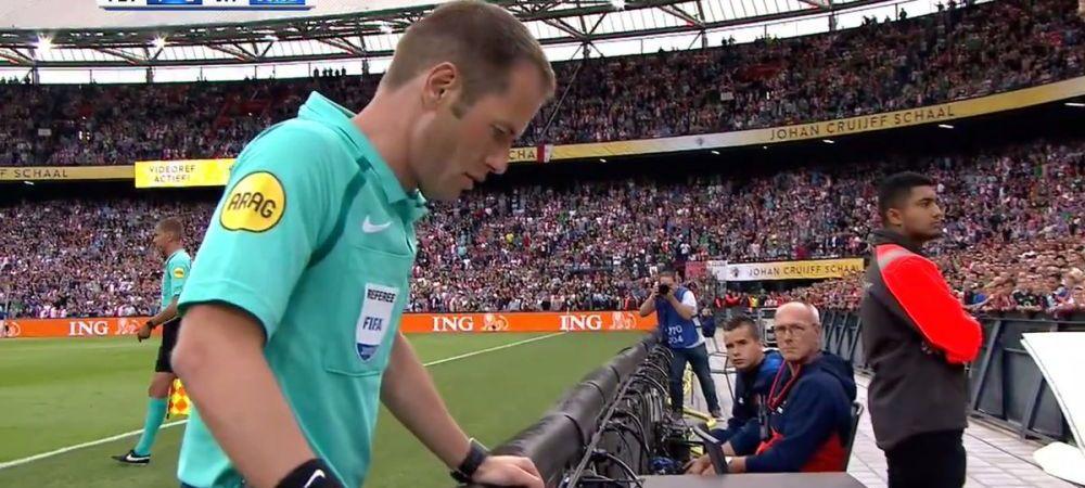 In loc de 2-0 s-a facut 1-1! Decizie incredibila in urma probei video la Supercupa Olandei! VIDEO
