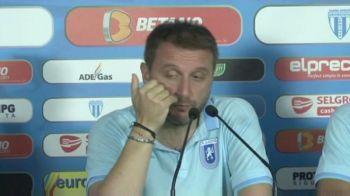 VIDEO EPIC. Cea mai tare conferinta de presa. :)) Ce a patit Mangia dupa meciul de la Severin