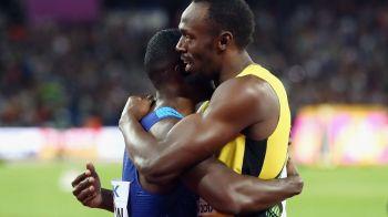 Ce a postat Bolt imediat dupa ce a terminat doar pe locul 3 in finala de 100 de metri, in ultima cursa din cariera!